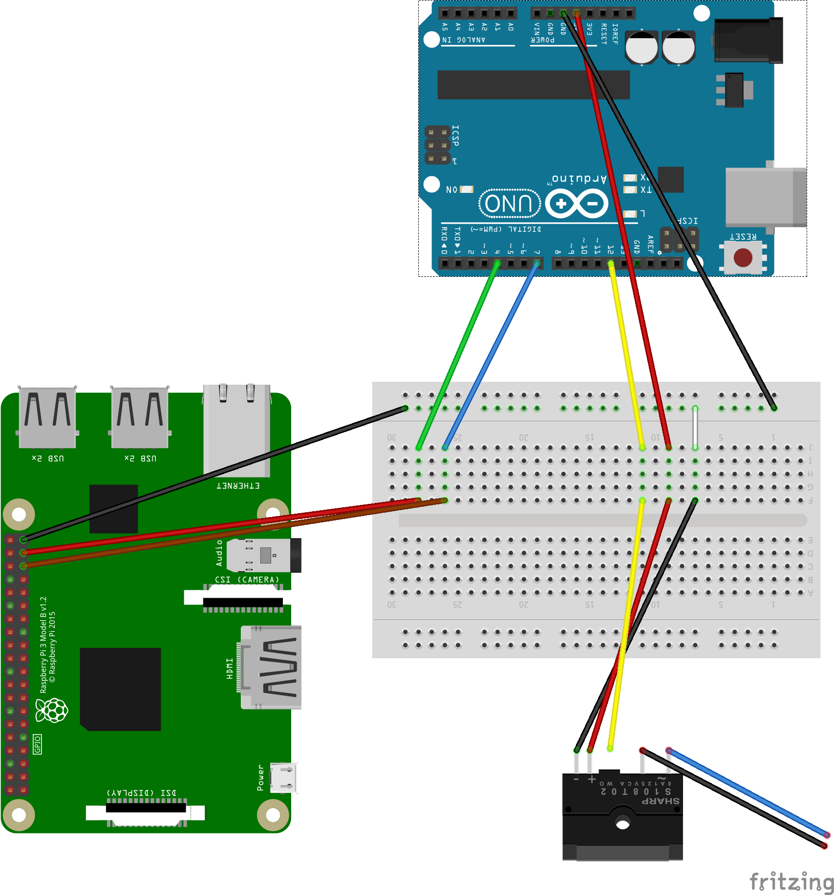 Electronic Door Opener With Nodejs Arduino And A Rpi Omm Solutions Relay Wiring Further Board As Well 2 Diagram Of The